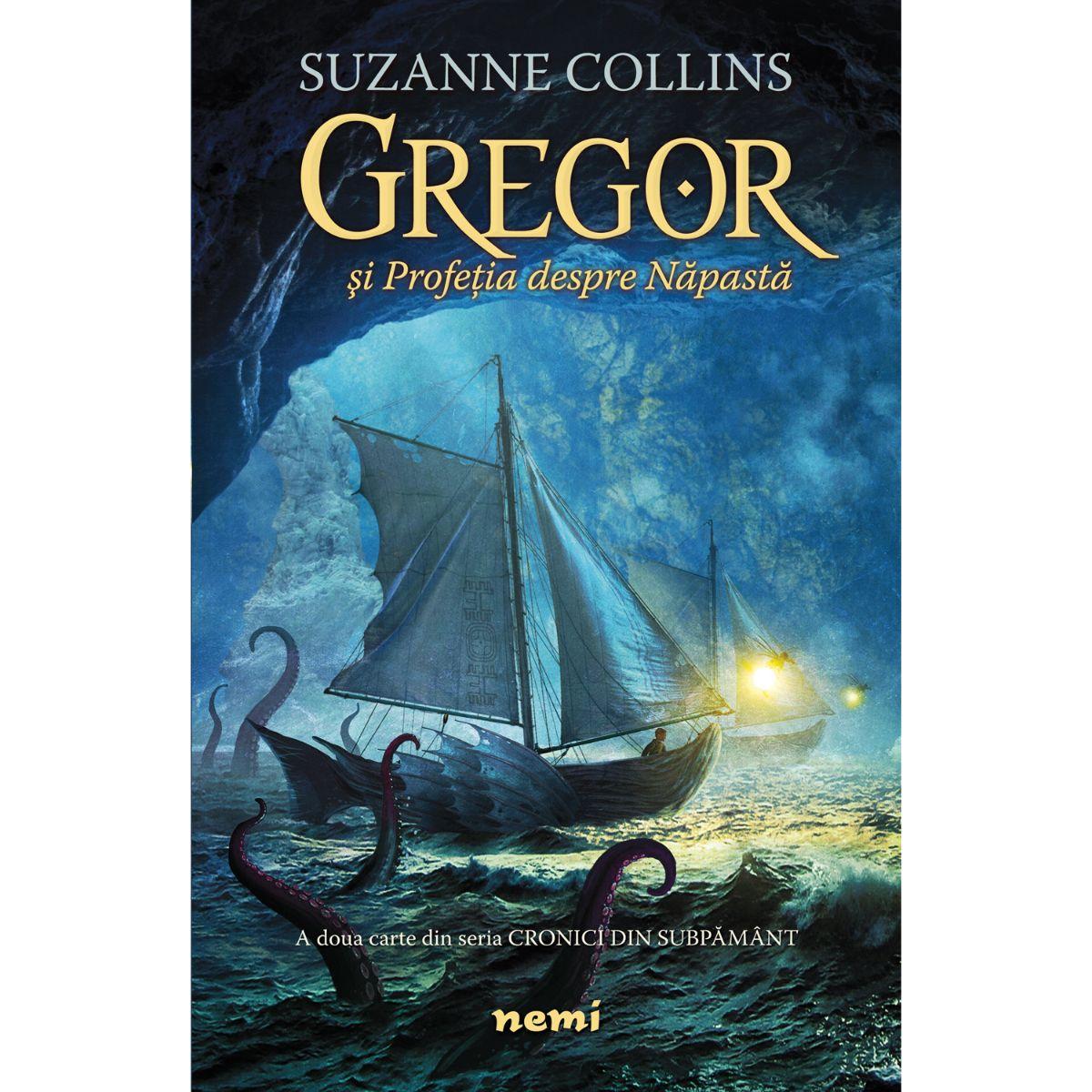 Gregor si profetia despre napasta, Suzanne Collins
