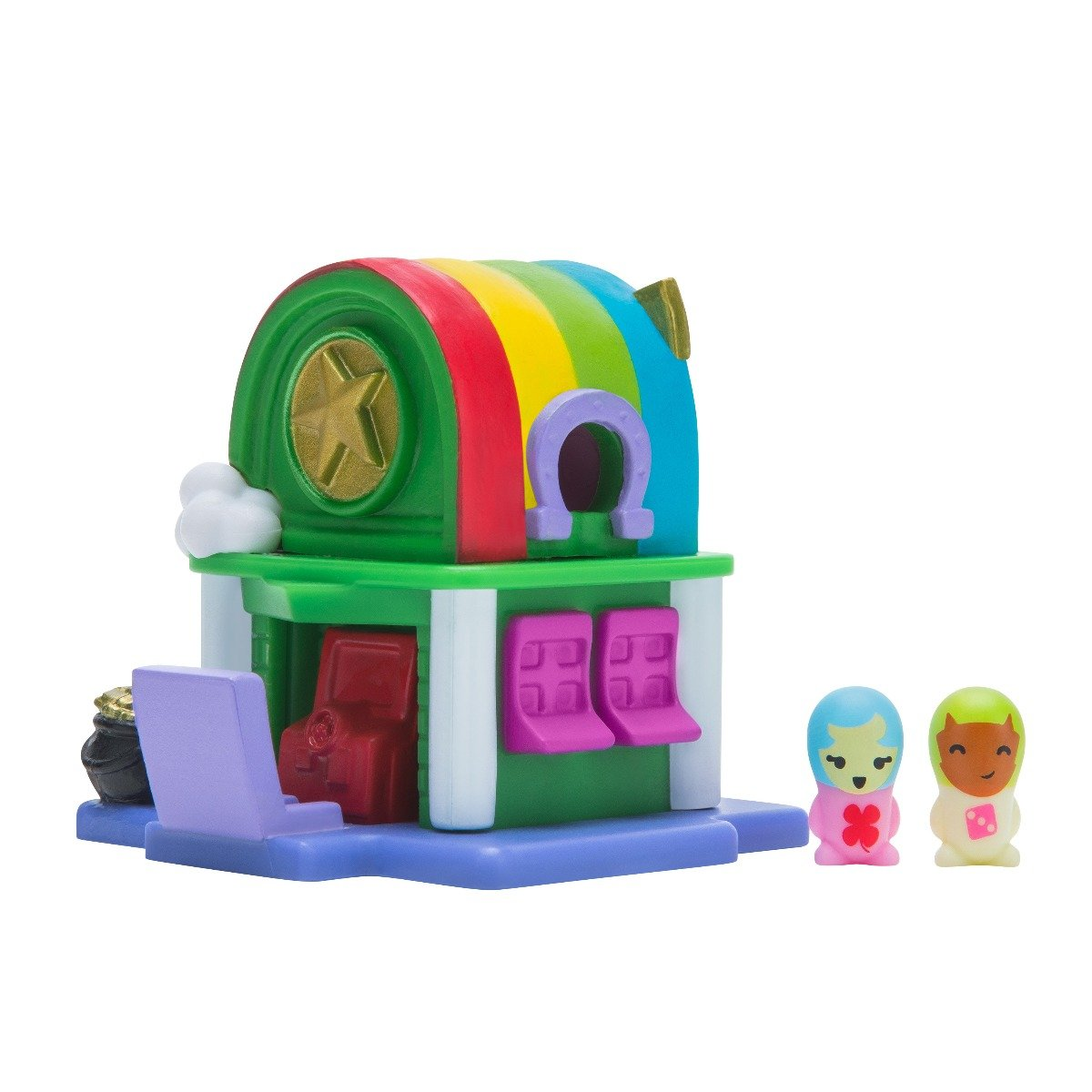 Set Nanables, Make it Rain-bow Arcade Rainbow Way