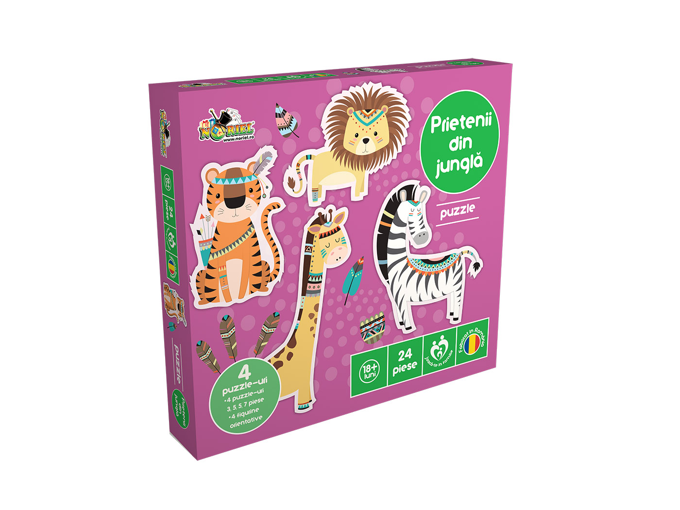 Puzzle Noriel - Prietenii din jungla