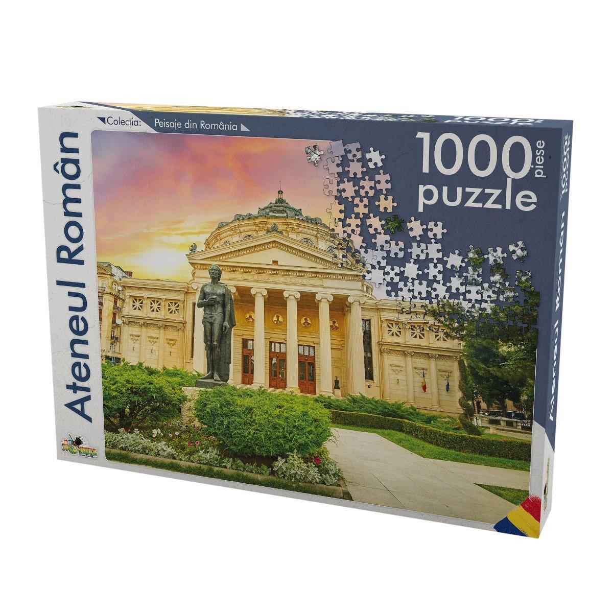 puzzle noriel peisaje din romania - ateneul roman (1000 piese)