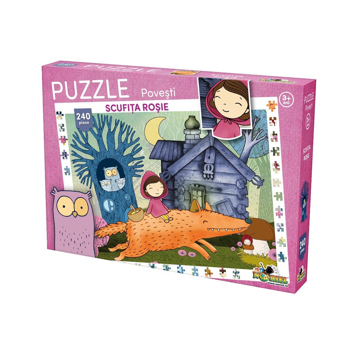 Puzzle clasic Noriel, Scufita rosie, 240 piese
