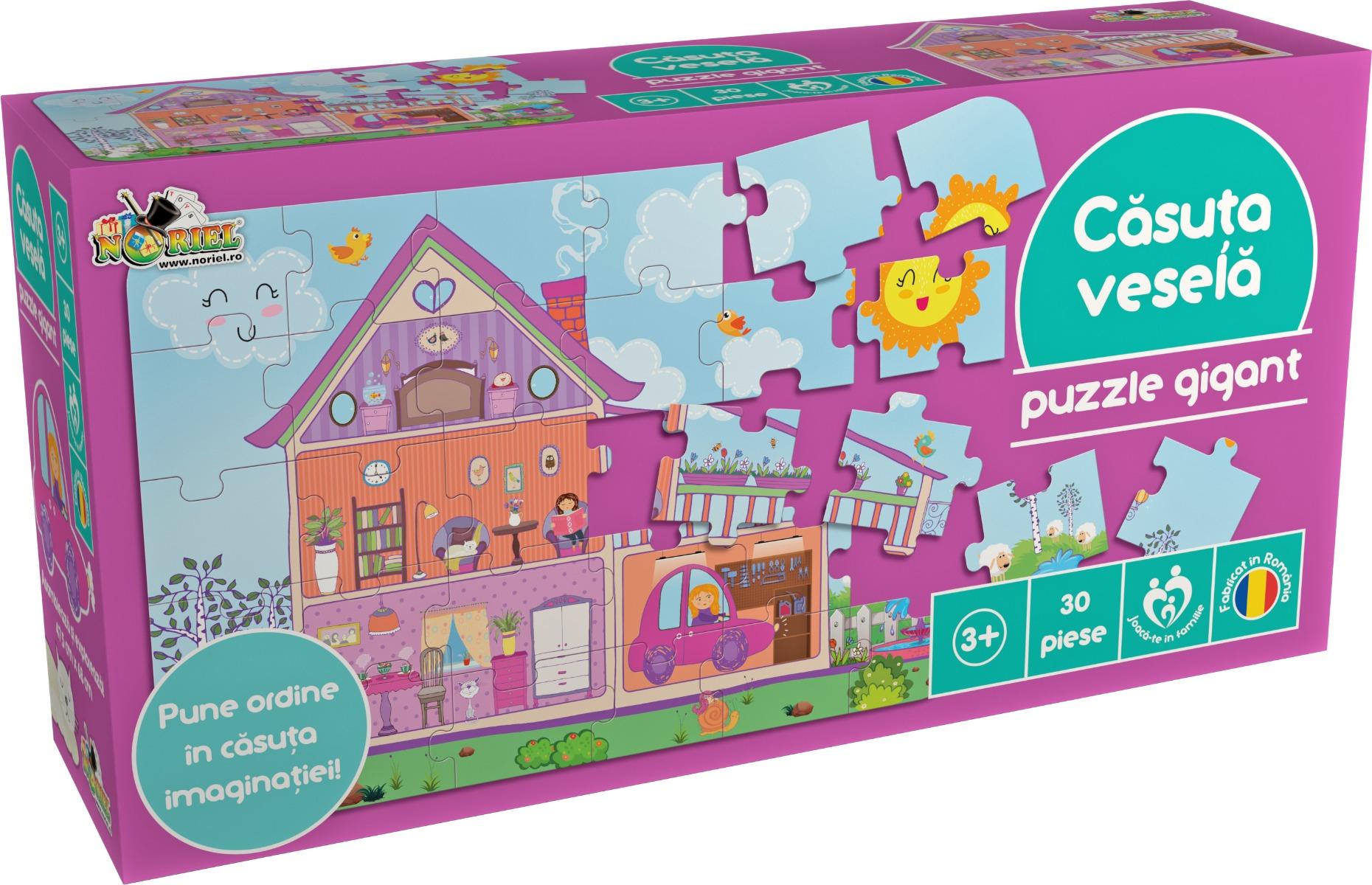 Puzzle Noriel - Casuta vesela