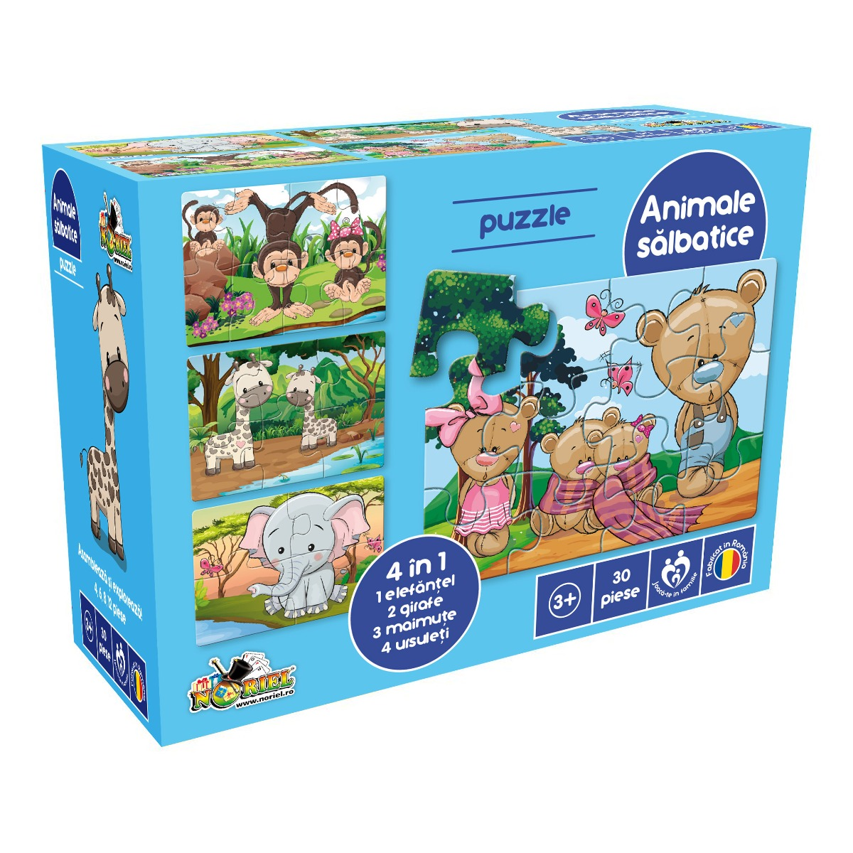 Puzzle Noriel - Animale salbatice