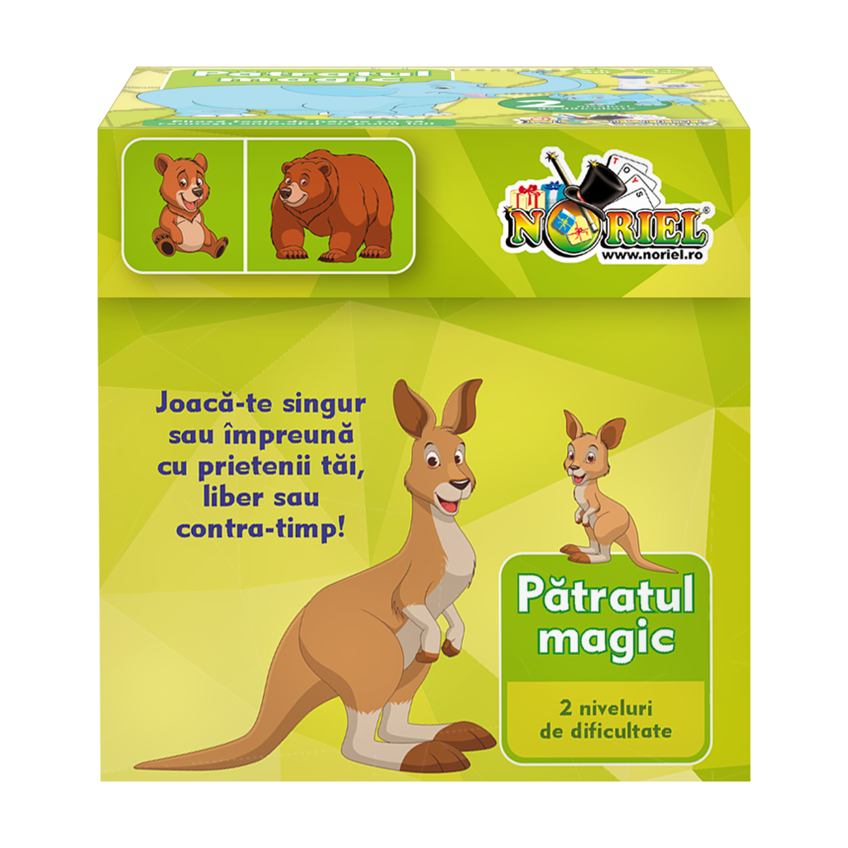 Joc educativ Noriel - Patratul magic