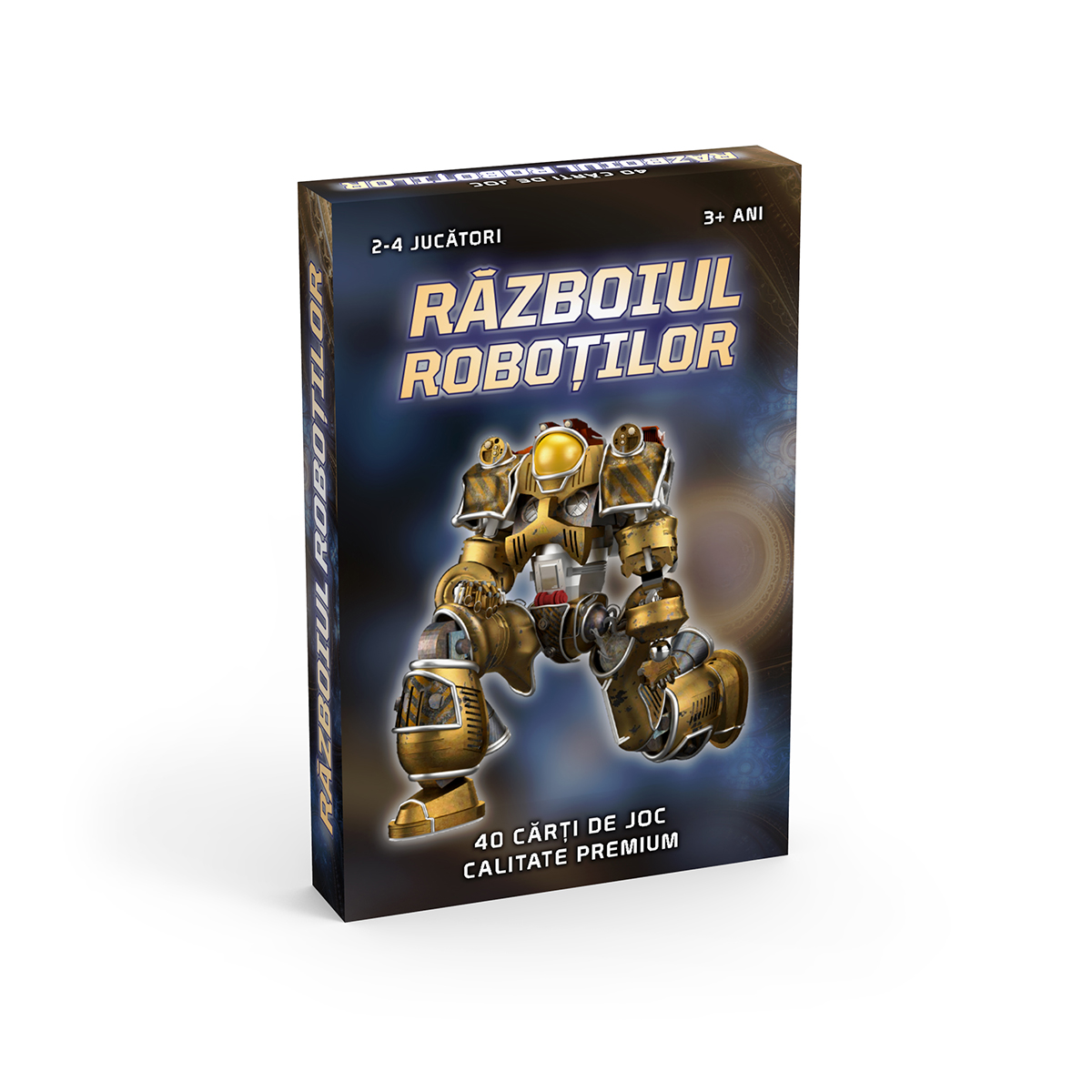 Pachet Carti de joc Noriel - Razboiul Robotilor