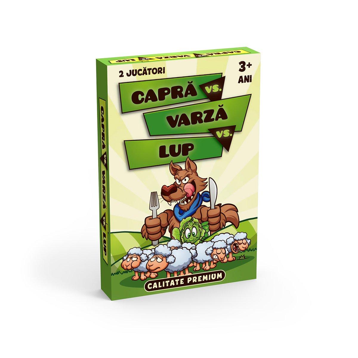 Joc de Carti Noriel - Razboi, 32 carti (Capra, Varza, Lup si Vanator)
