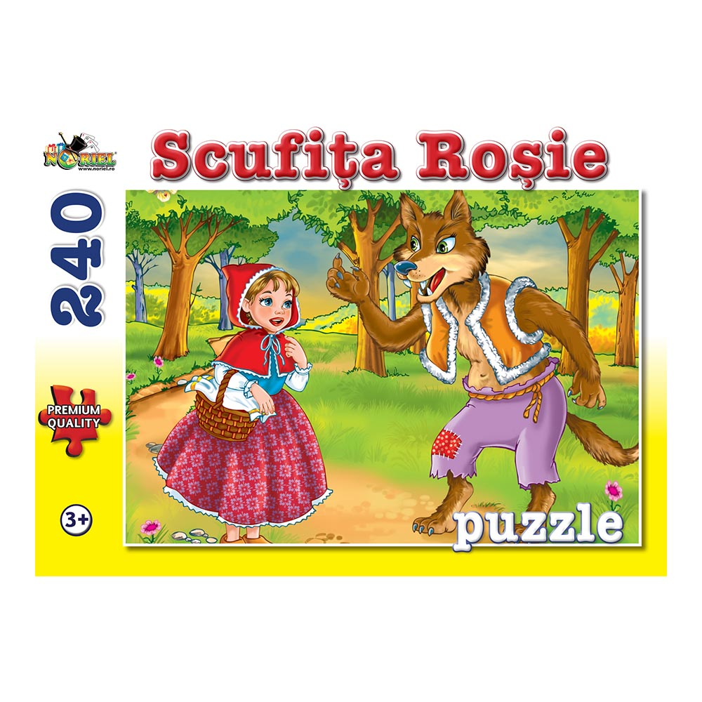 puzzle noriel - scufita rosie, 240 piese