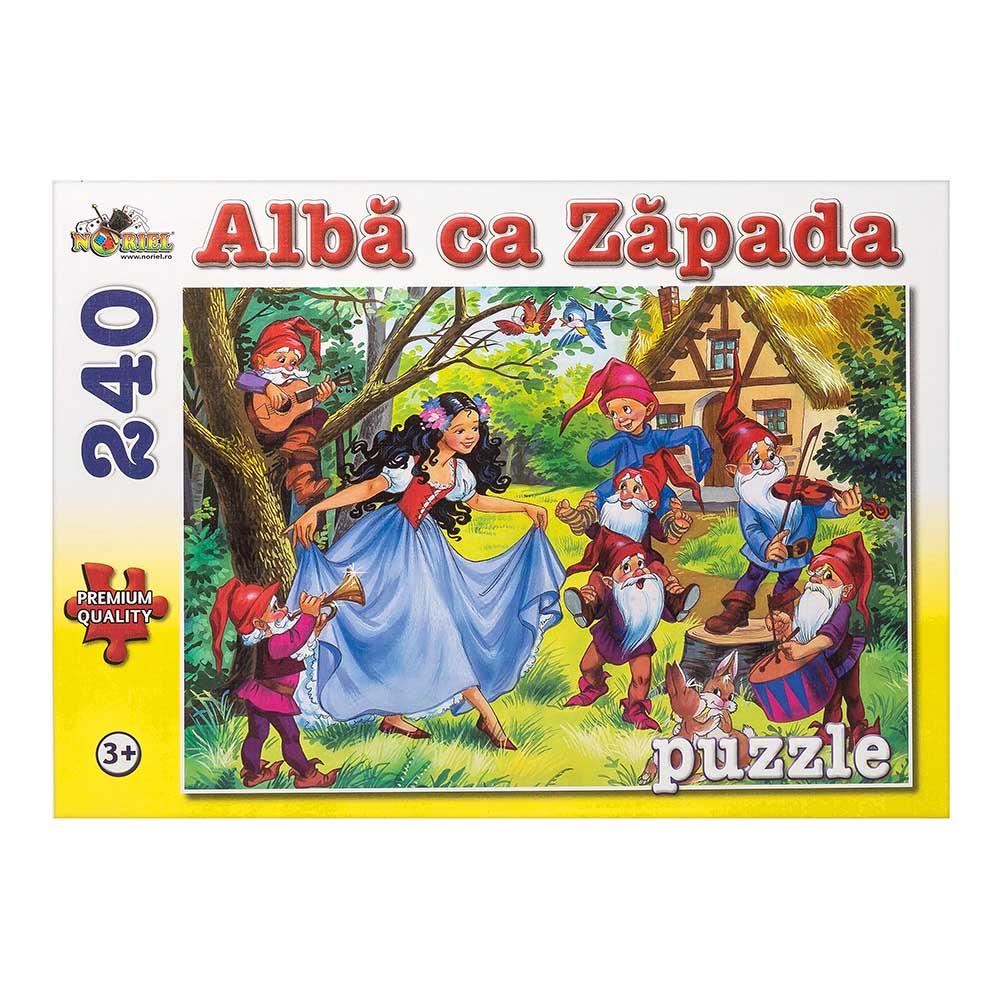puzzle noriel - alba ca zapada, 240 piese