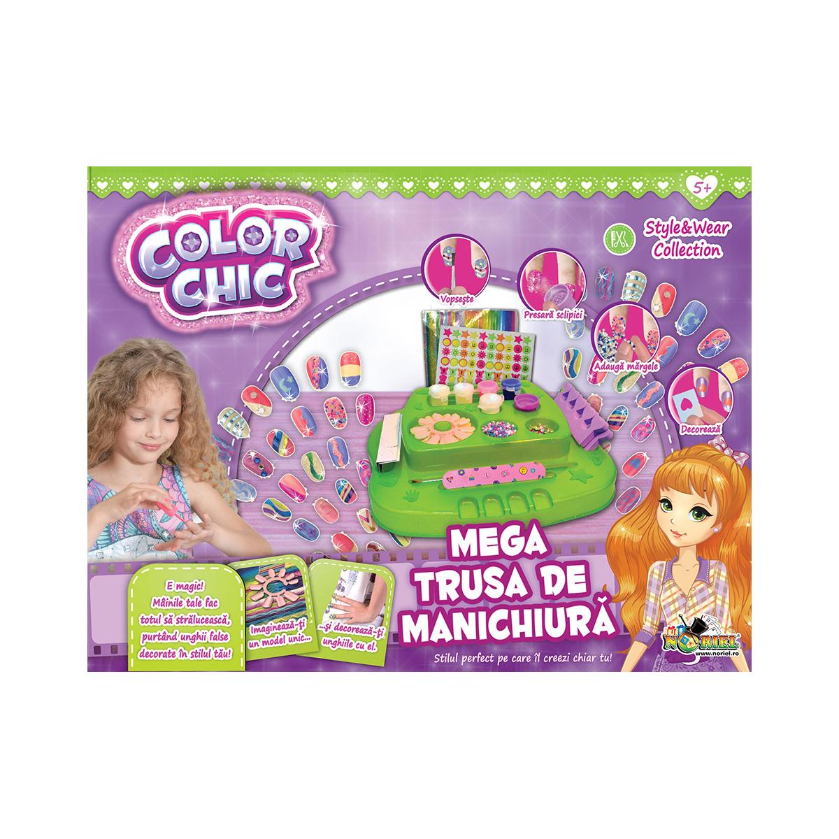 Color Chic - Mega Trusa de manichiura