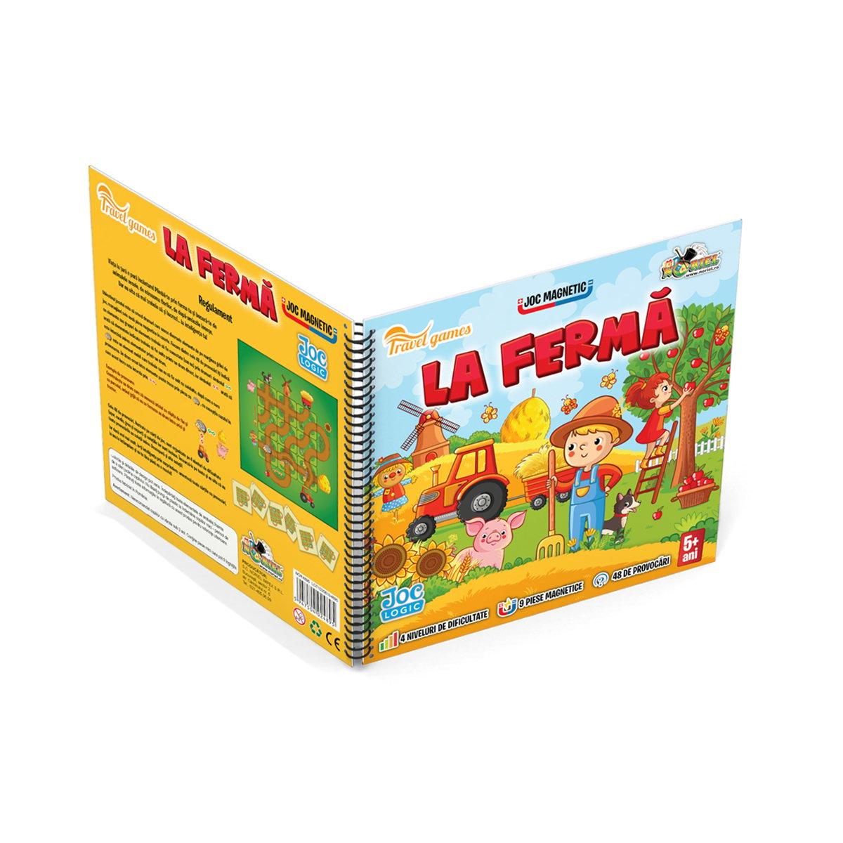 Joc magnetic interactiv Noriel Games, La ferma