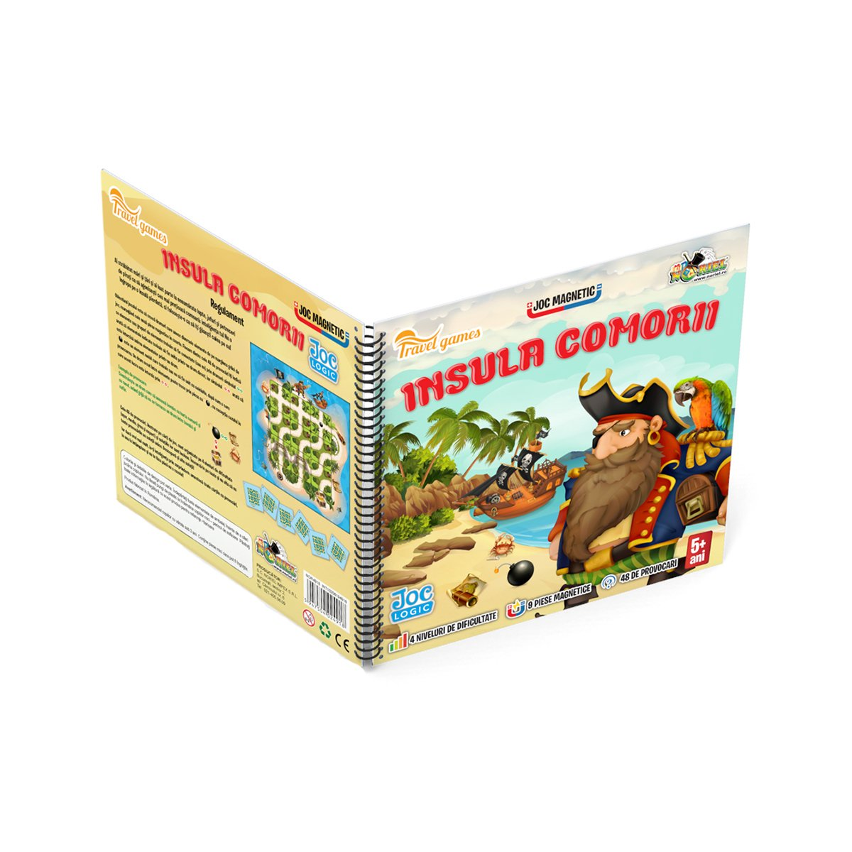 Joc magnetic interactiv Noriel Games, Insula comorii