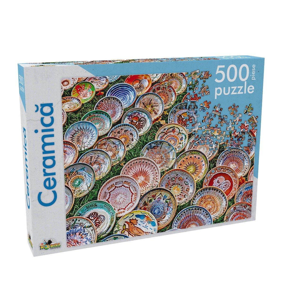 Puzzle Noriel - Ceramica, 500 piese