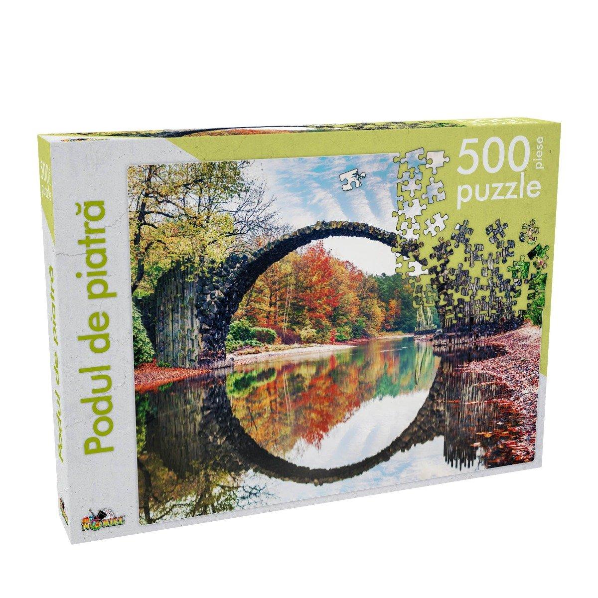Puzzle Noriel - Podul de piatra, 500 piese