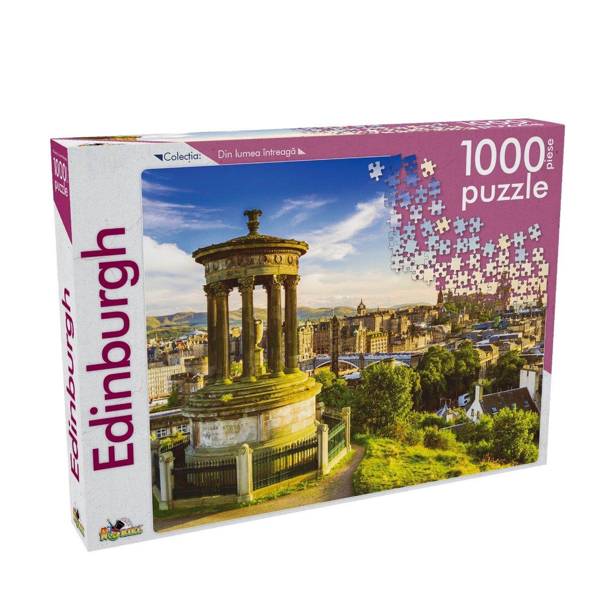 Puzzle Noriel - Din lumea intreaga - Edinburgh, 1000 Piese imagine 2021