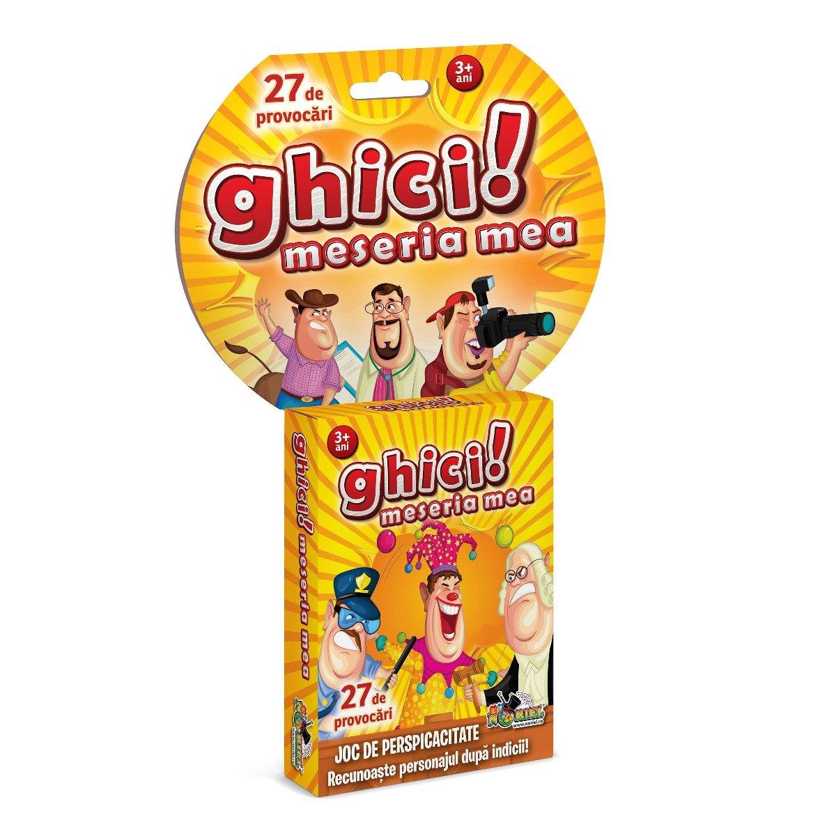 Joc educativ Noriel Games, Ghici! Meseria mea