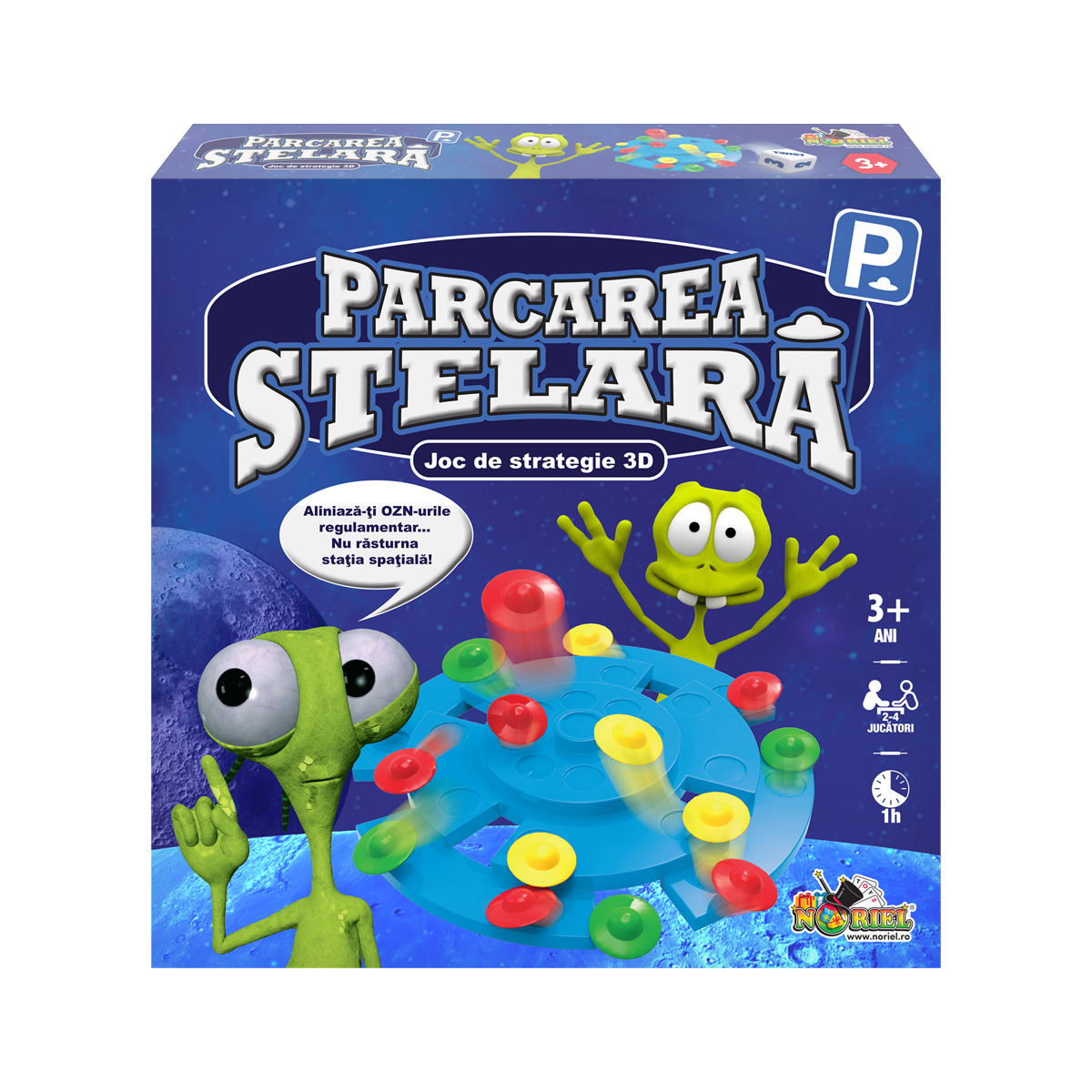 Joc de strategie 3D Parcarea Stelara, Noriel Games