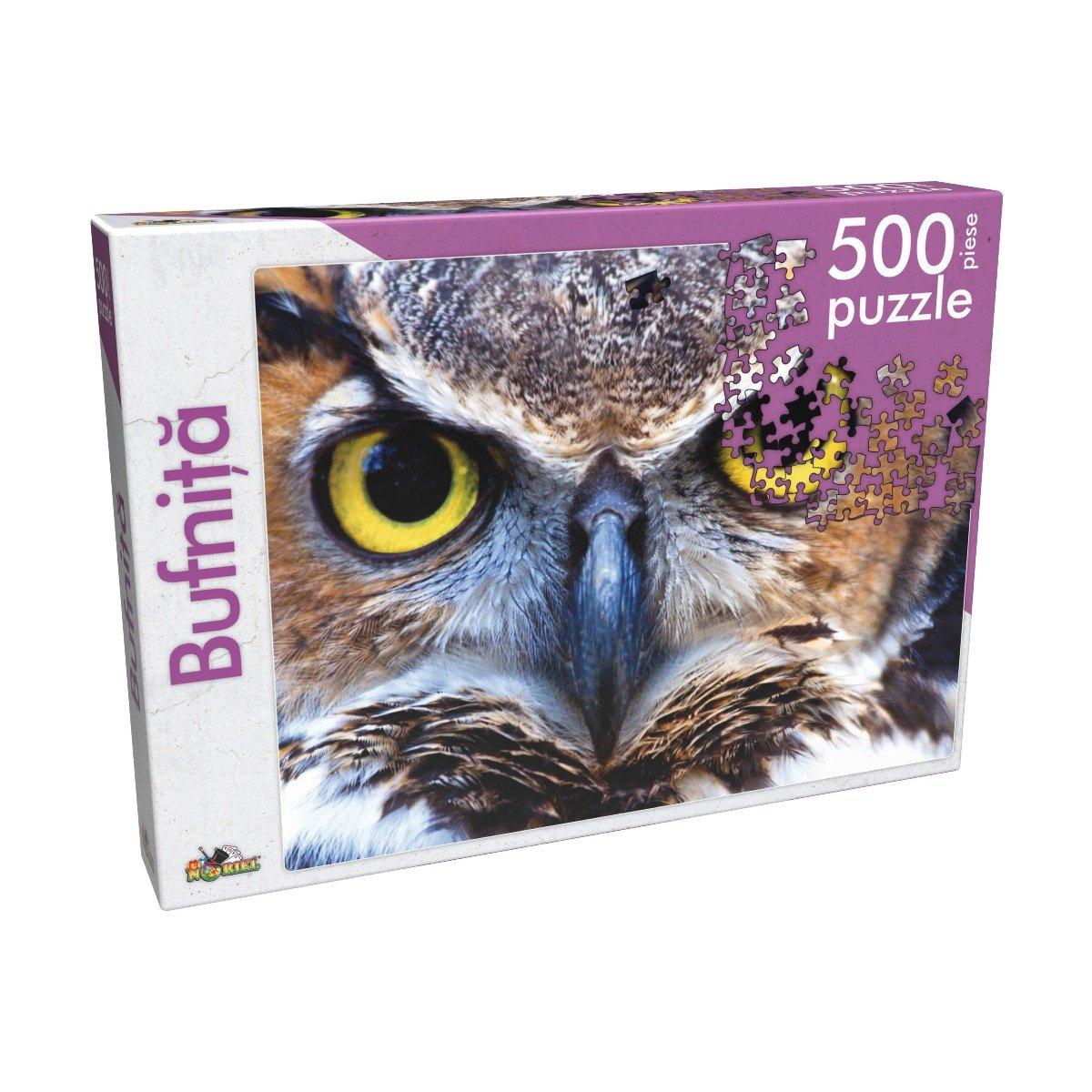 Puzzle clasic Noriel - Bufnita, 500 piese