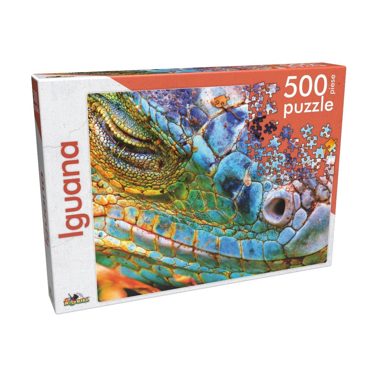 Puzzle clasic Noriel - Iguana, 500 piese