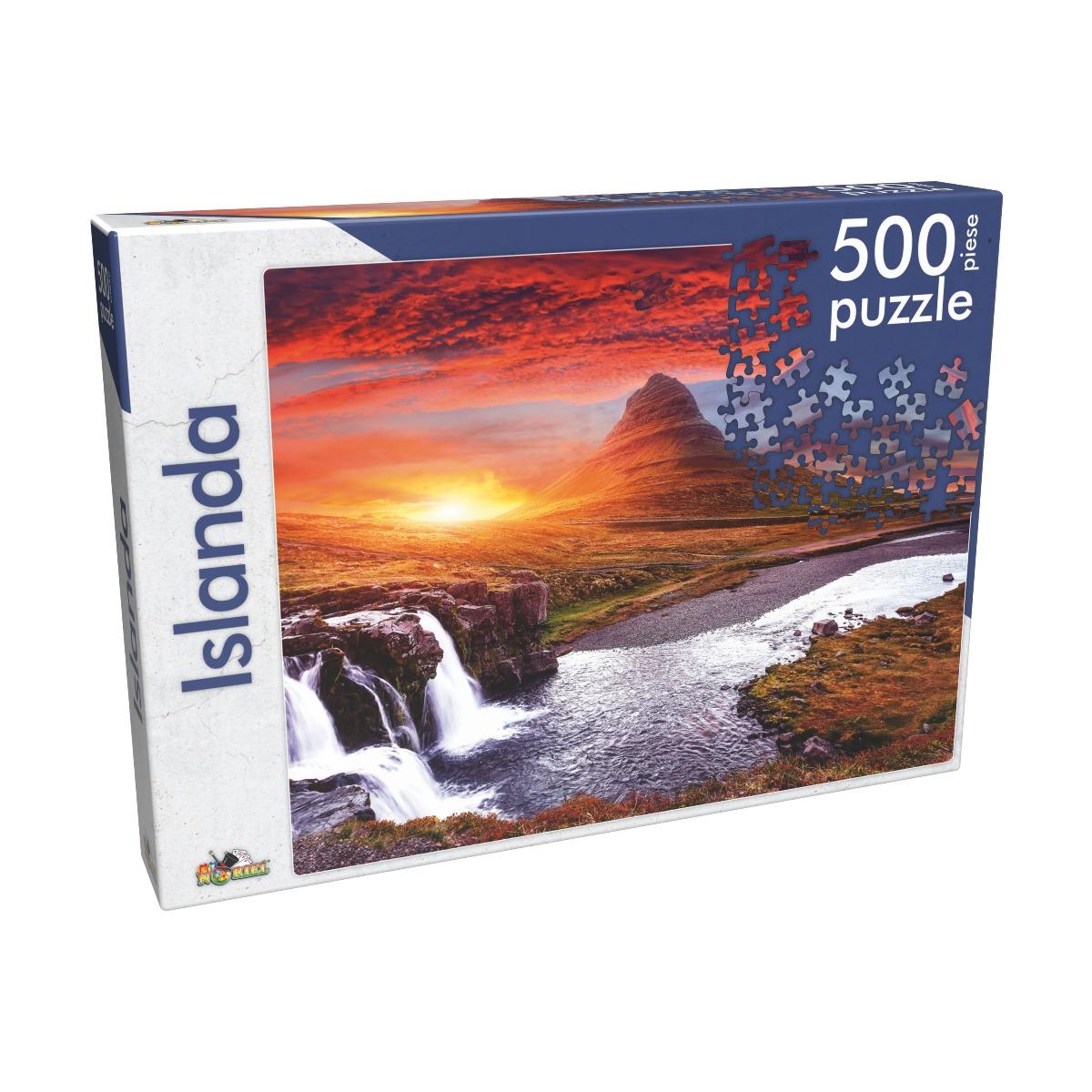 Puzzle clasic Noriel - Islanda, 500 piese