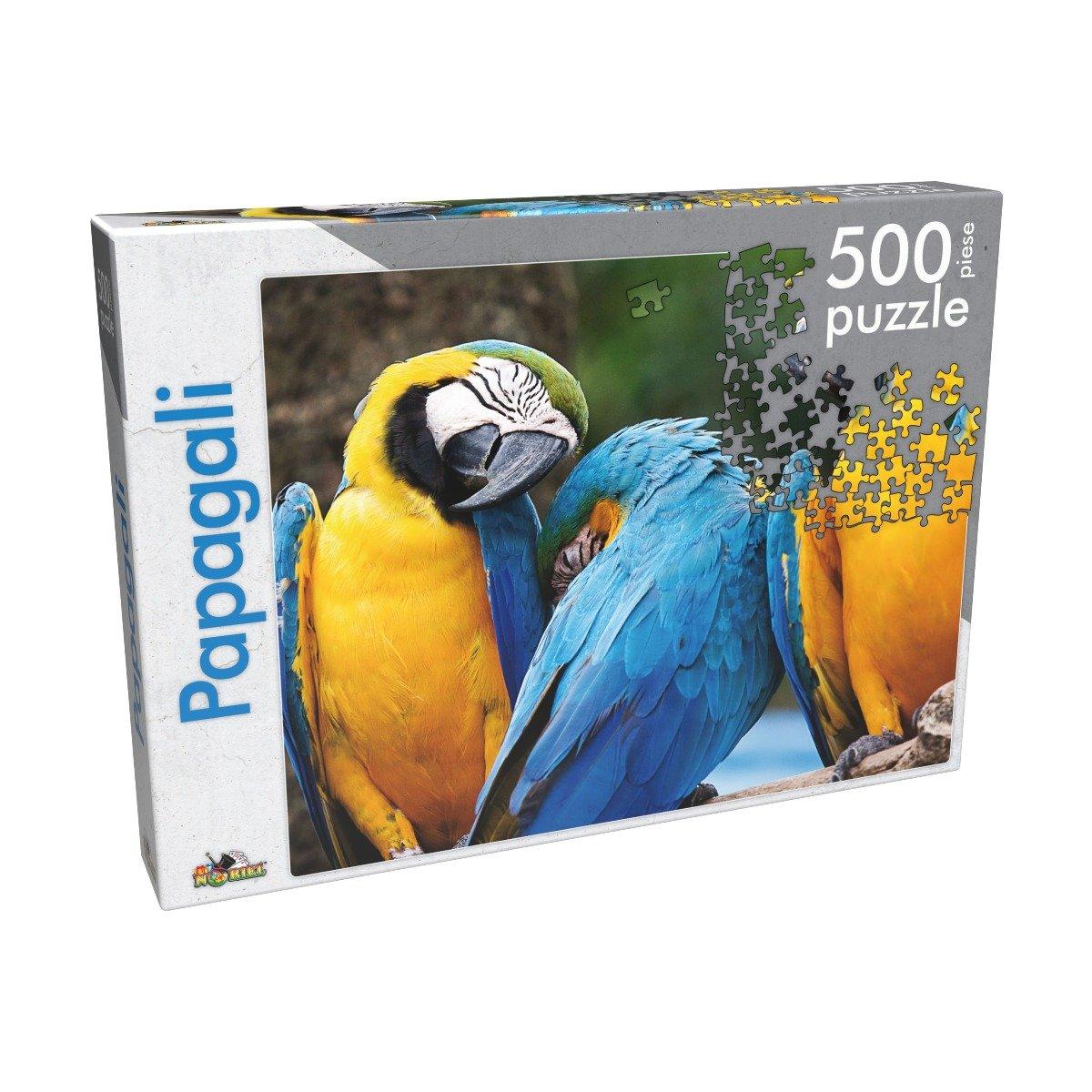Puzzle clasic Noriel - Papagali, 500 piese