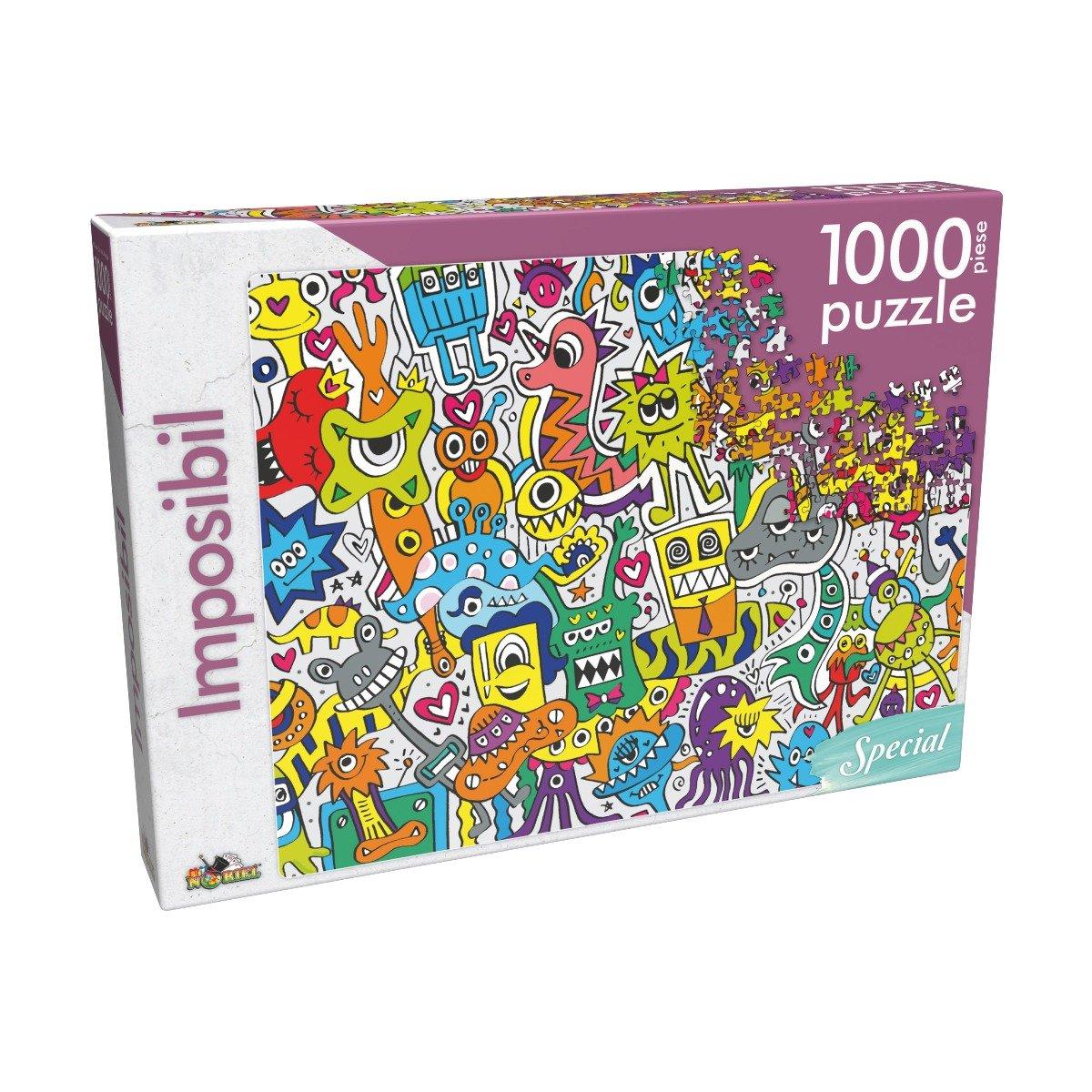 Puzzle clasic Noriel - Imposibil, 1000 piese imagine 2021