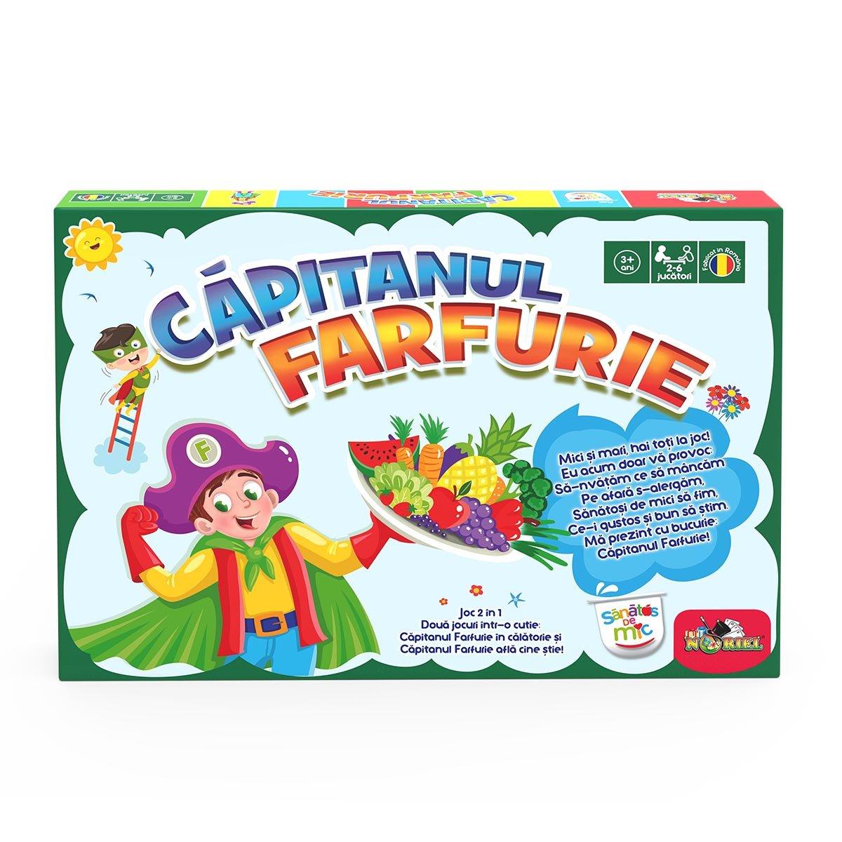 Joc educativ Noriel Games, Capitanul Farfurie