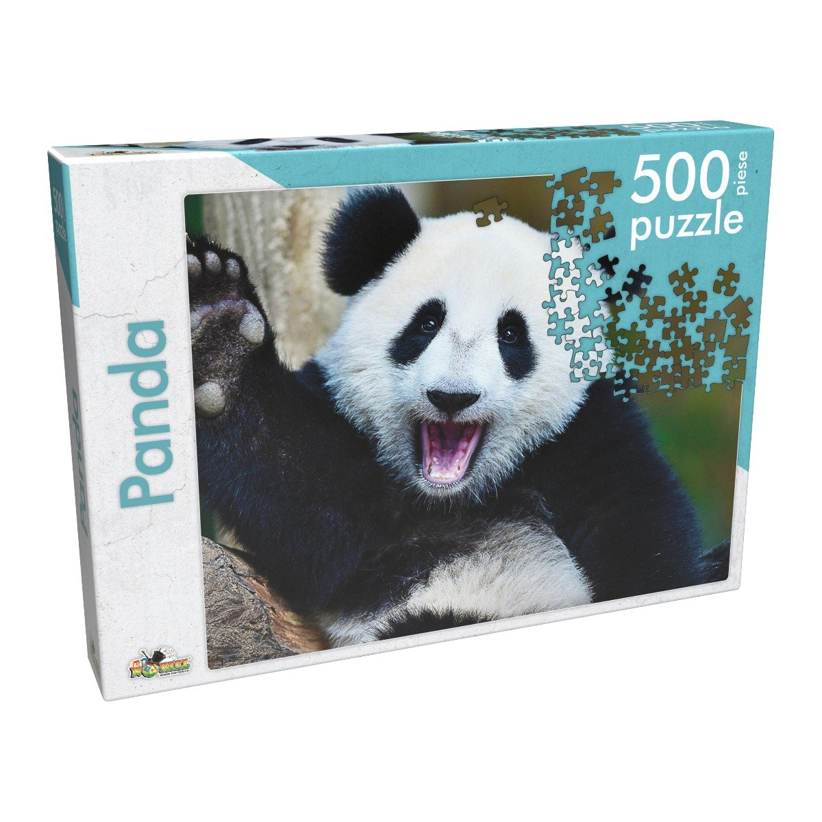 Puzzle clasic Noriel - Panda, 500 piese