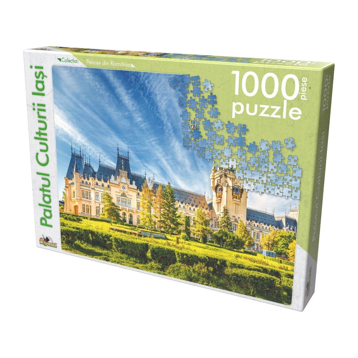 Puzzle clasic Noriel - Palatul Culturii Iasi, 1000 piese