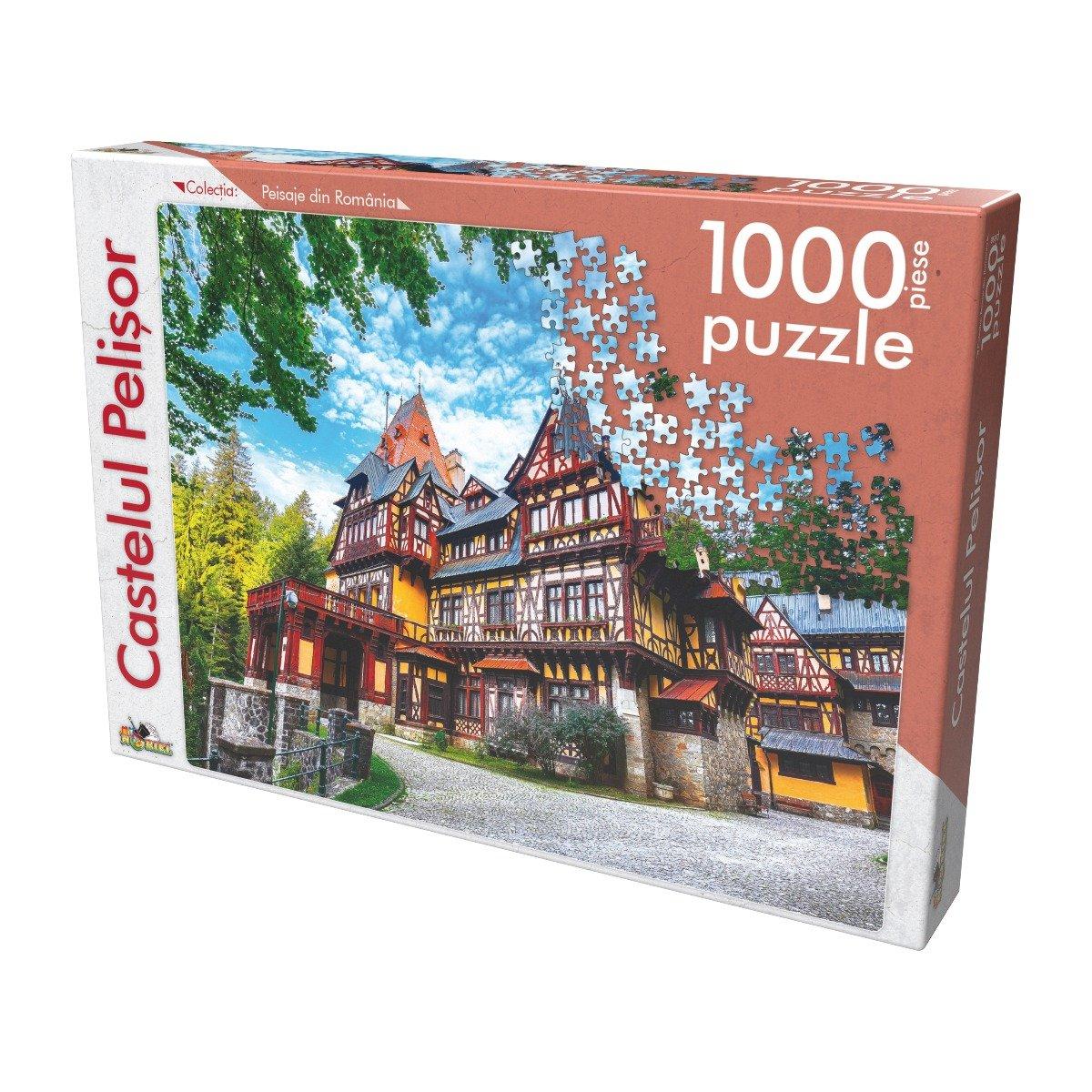 Puzzle clasic Noriel - Castelul Pelisor, 1000 piese