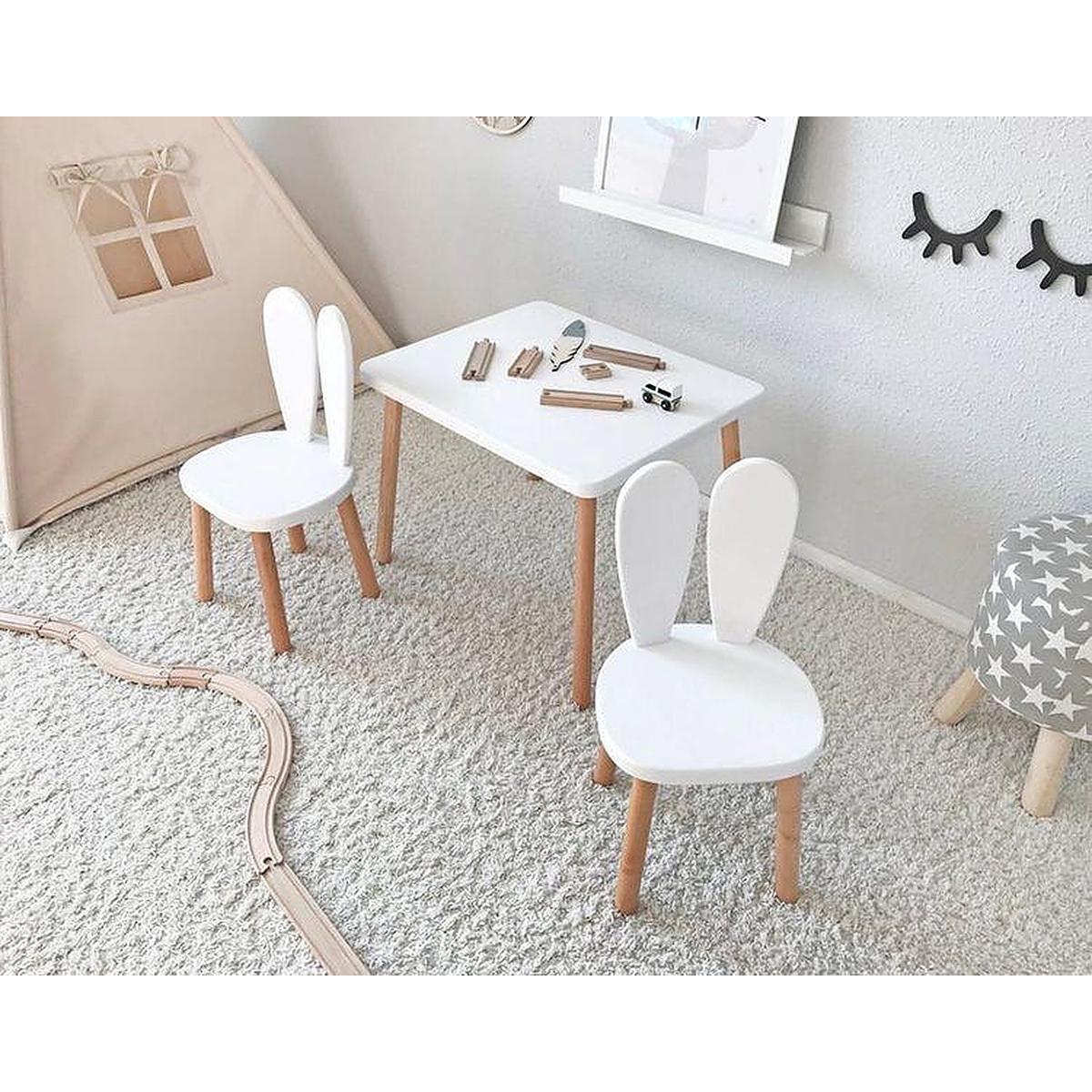 Masuta pentru copii Home Concept, Alb