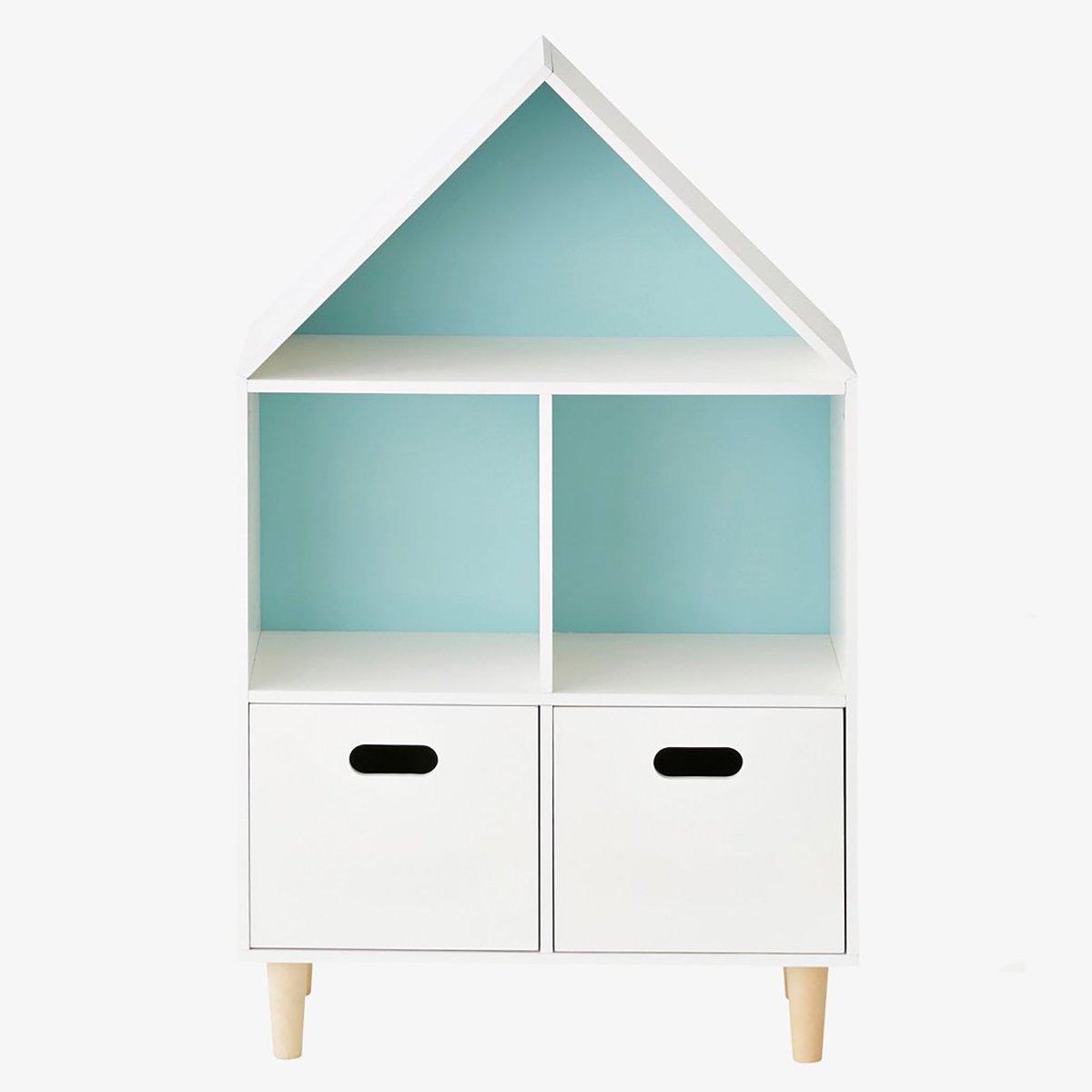 Biblioteca Home Concept Sugar, Bleu