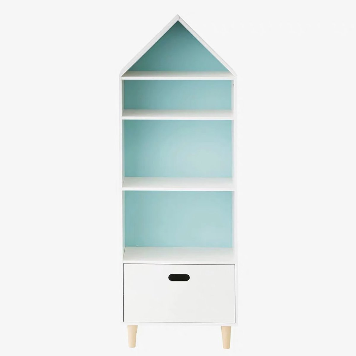 Biblioteca Home Concept Teddy, Blue