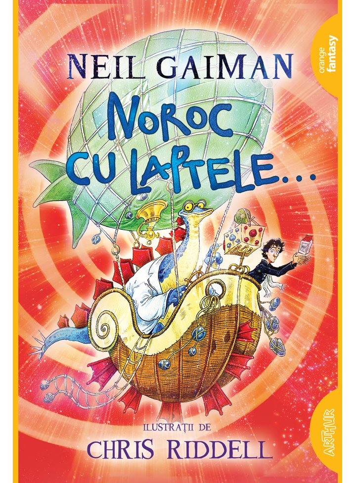 Noroc cu laptele, Neil Gaiman