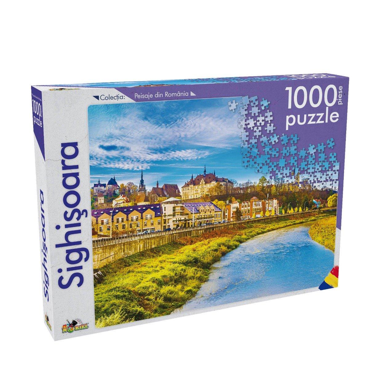 Puzzle Noriel - Peisaje din Romania - Sighisoara, 1000 Piese