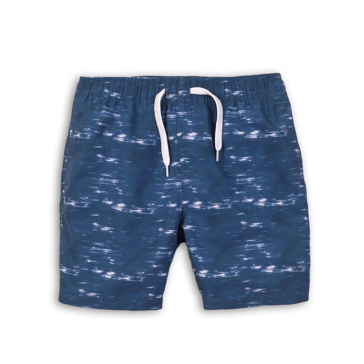 pantaloni scurti baie cu imprimeu minoti obs, bleumarin