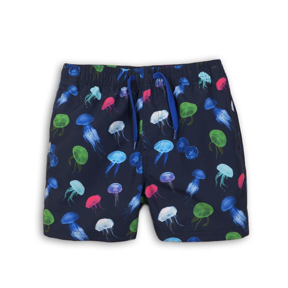 pantaloni scurti baie cu imprimeu meduza minoti obs