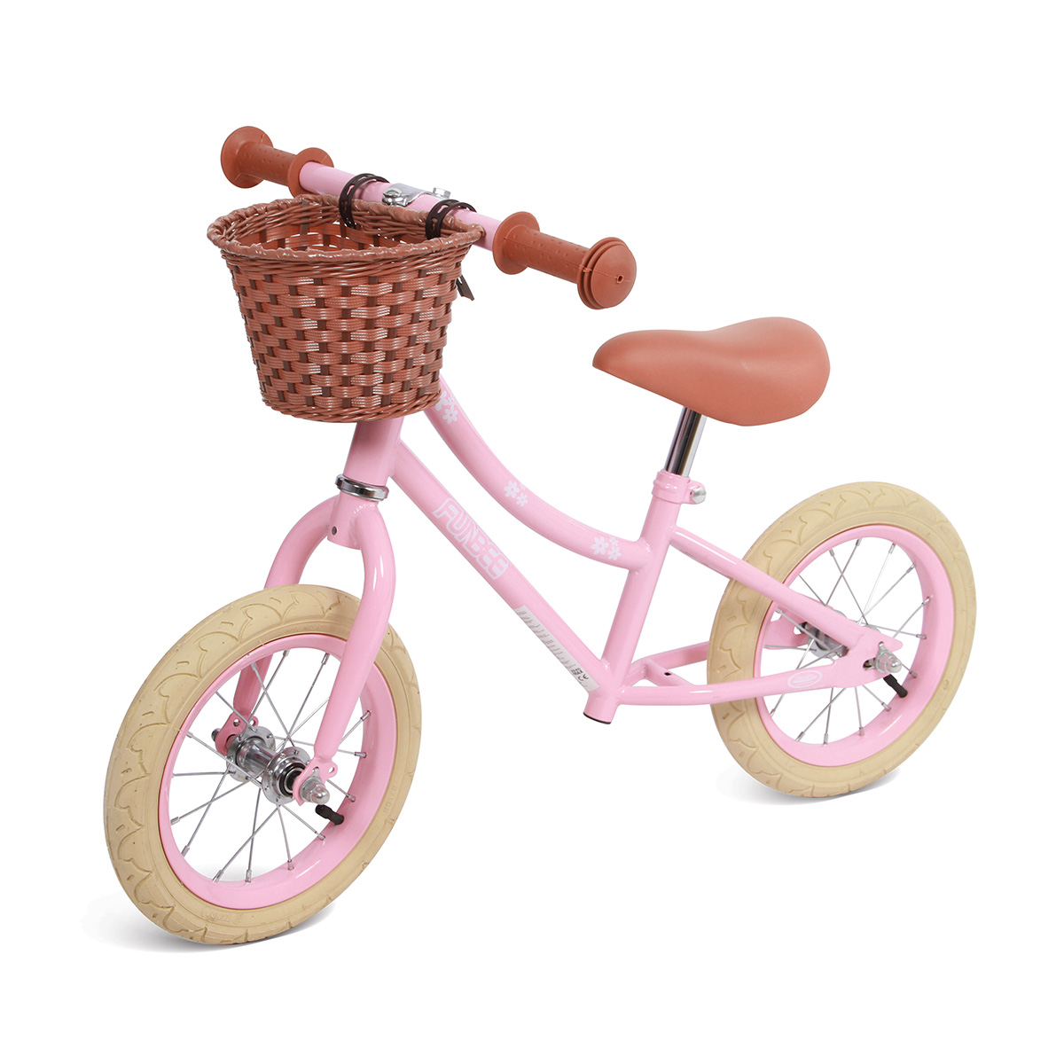 Bicicleta fara pedale, cos central Funbee, 12 inch