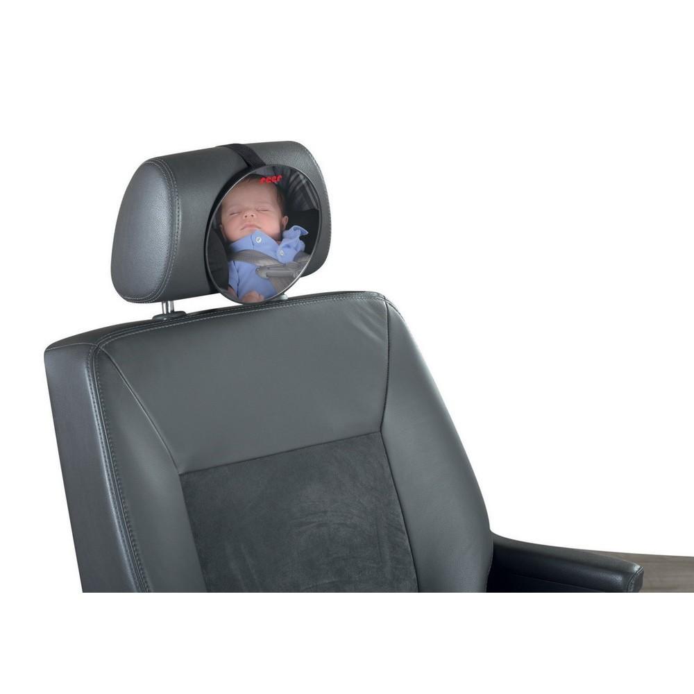 oglinda auto pentru vizualizarea bebelusilor de pe bancheta din spate, reer