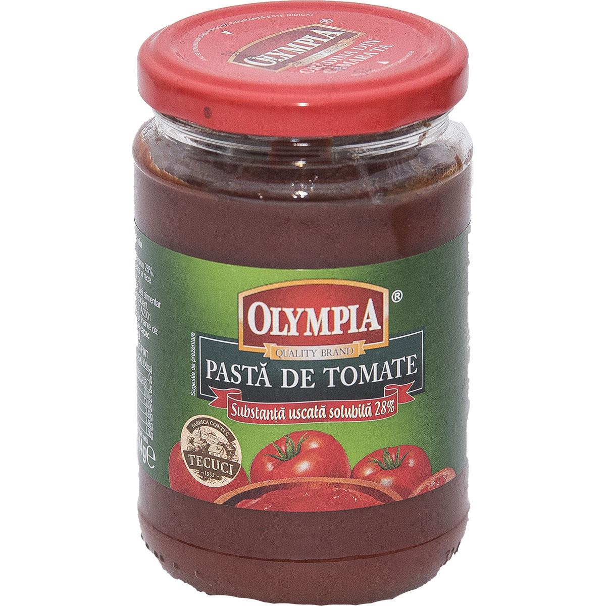 Pasta de tomate Olympia, 314 gr imagine