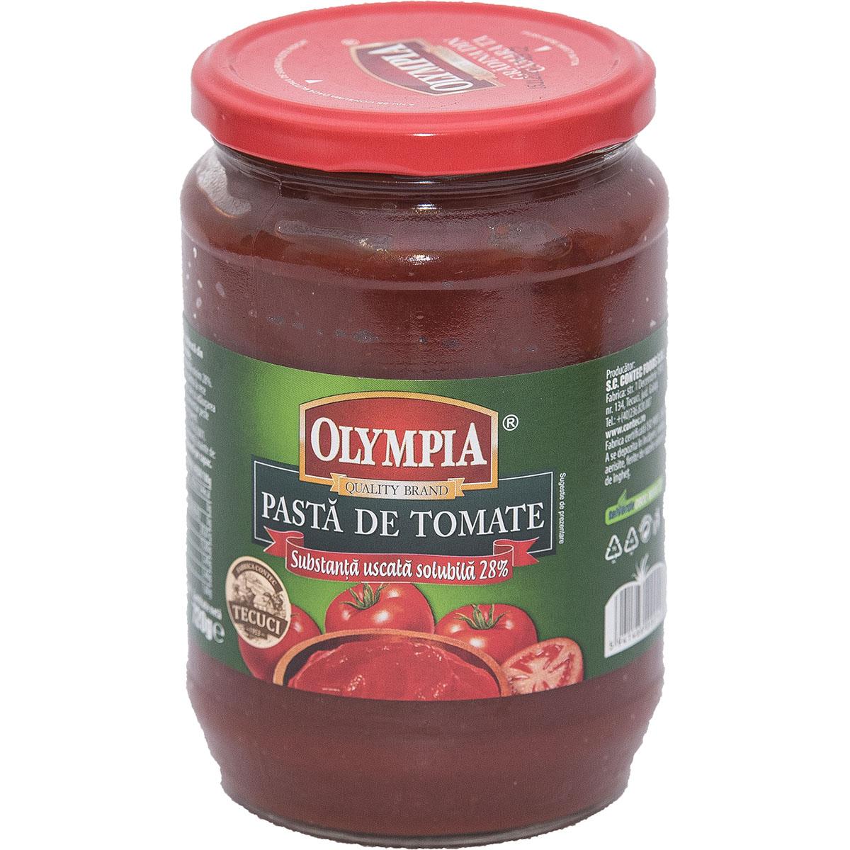 Pasta de tomate Olympia, 720 gr imagine