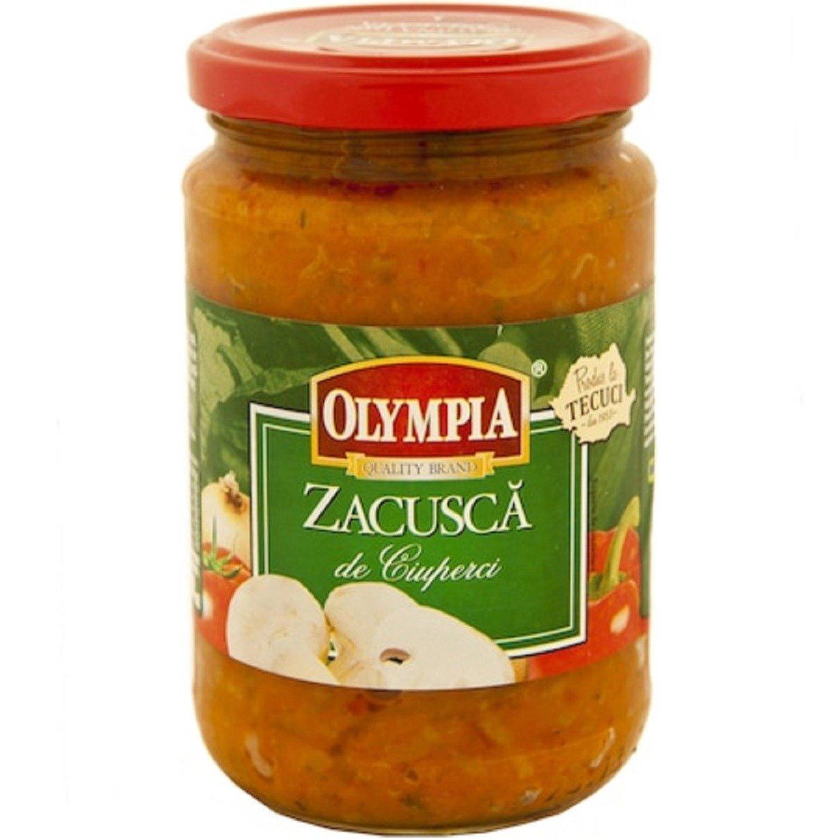 Zacusca de ciuperci Olympia, 295 gr imagine