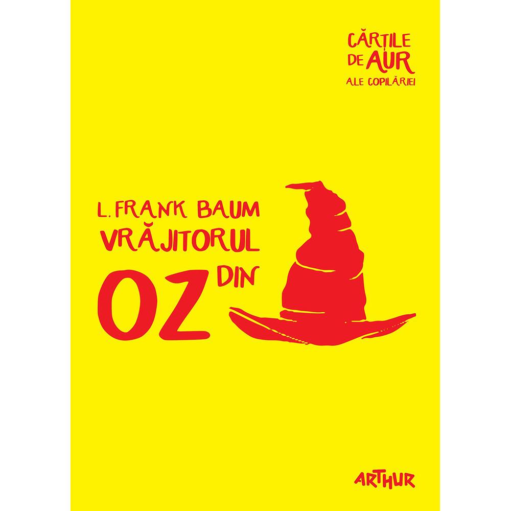 Carte Editura Arthur, Vrajitorul din Oz (Cartile de aur 22), Frank Baum