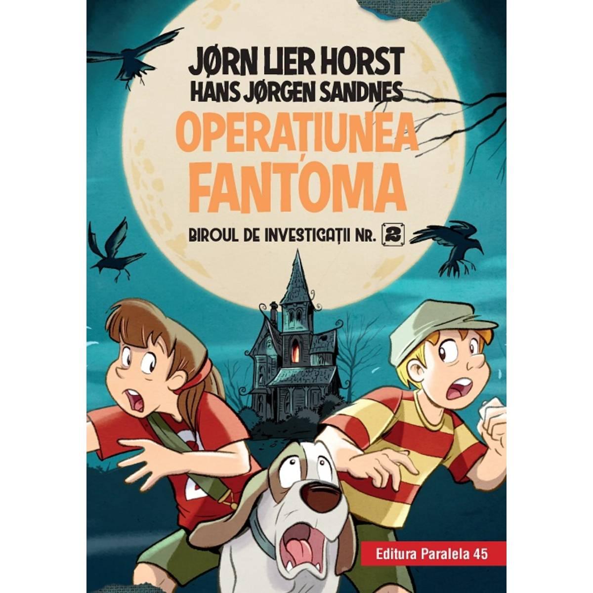 Biroul de investigatii nr. 2. Operatiunea fantoma, Jorn Lier Horst, Hans Jorgen Sandnes imagine