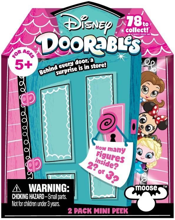 Pachet doua figurine cu surpriza Disney Doorables S1