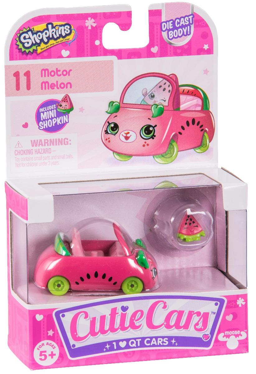 Pachet masinuta cu figurina Cutie Cars Motor Melon Seria 1