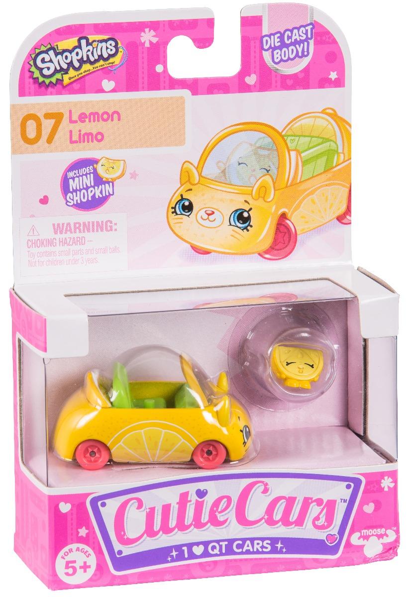 Pachet masinuta cu figurina Cutie Lemon Limo Seria 1