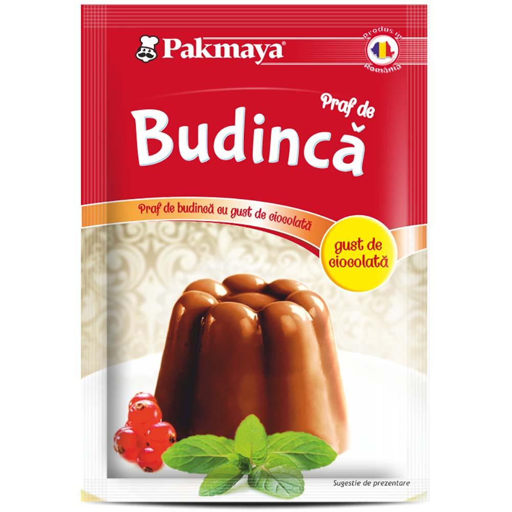 Cutie Praf de budinca cu gust de ciocolata Pakmaya 50g x 24 pliculete imagine