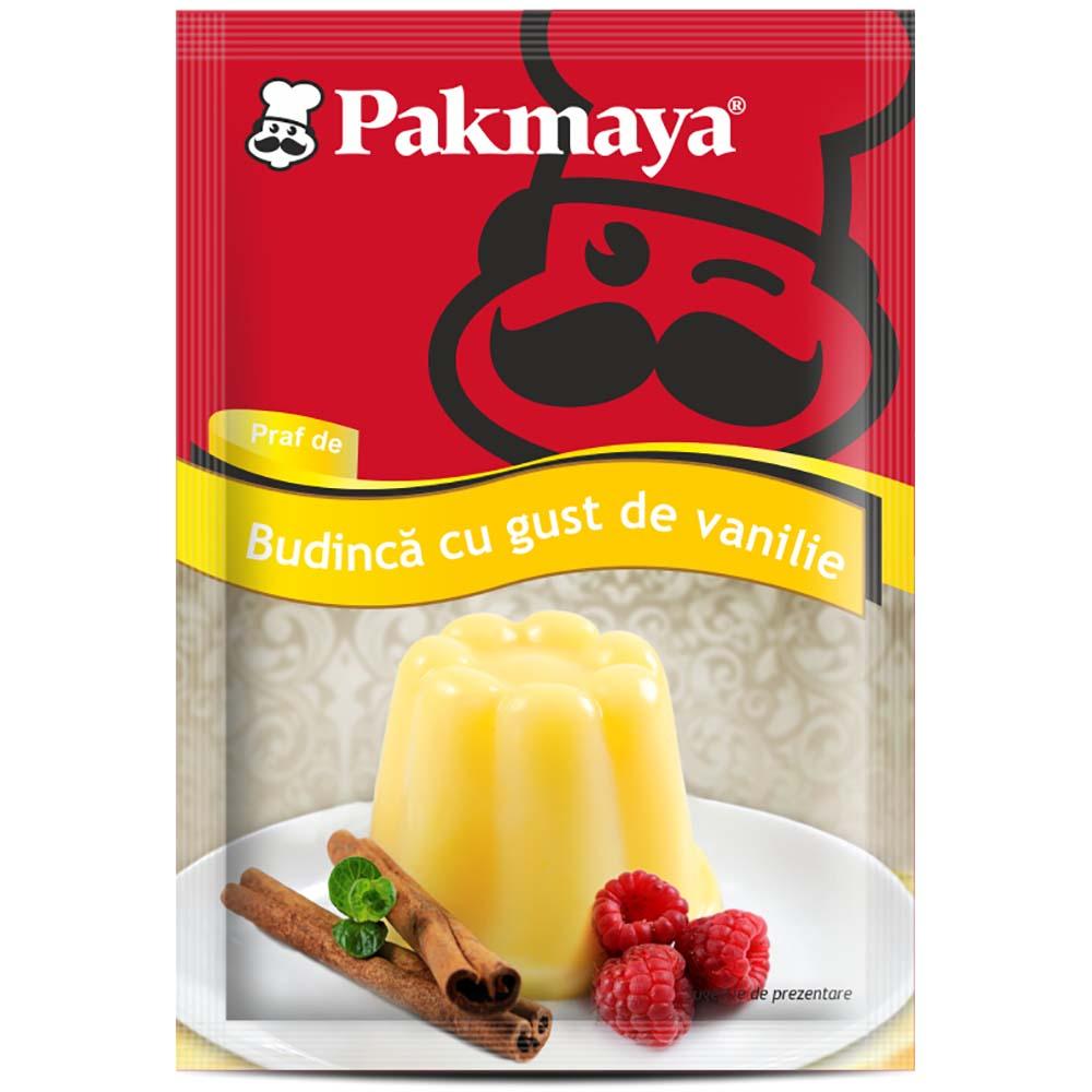Cutie Praf de budinca cu gust de vanilie Pakmaya 40g x 24 pliculete imagine