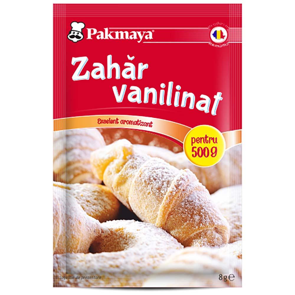 Cutie Zahar vanilinat Pakmaya 8 g x 40 pliculete imagine