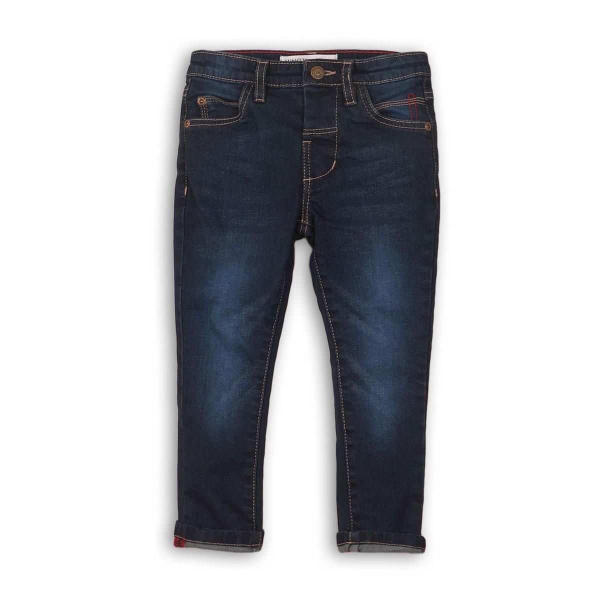 Pantaloni denim cu detalii de cusatura, Minoti Shore